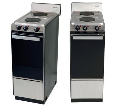 Cocina Brogas Electrica Acero 30 Cm
