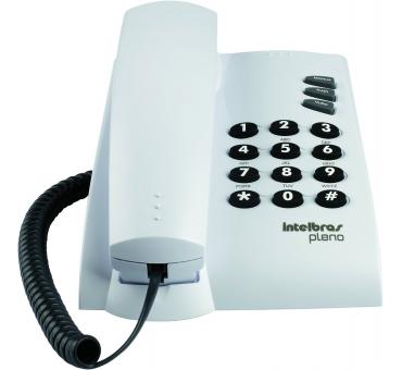 Telefono Alambrico Intelbras Modelo Pleno Blanco