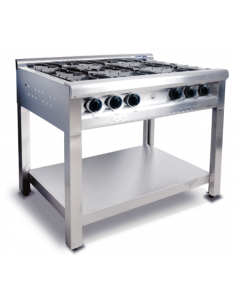 Anafe Morelli Mr Chef Con Patas 750 4 Hornallas (cod 101163)